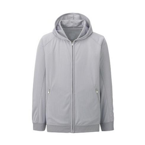 麻灰色开衫卫衣制作
