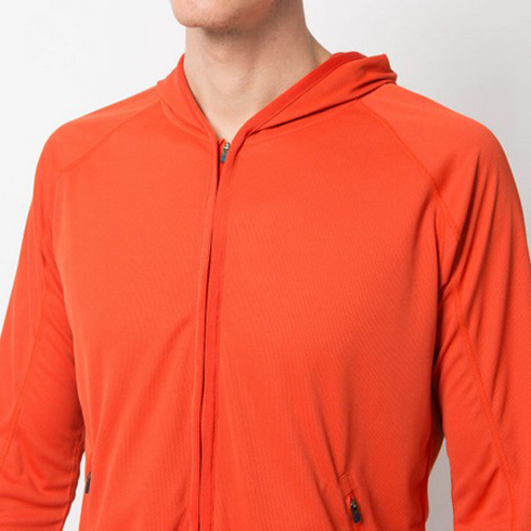 桔色开衫卫衣制作