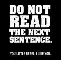 【多图】'不要买这件T恤'搞怪英文字母图案印花